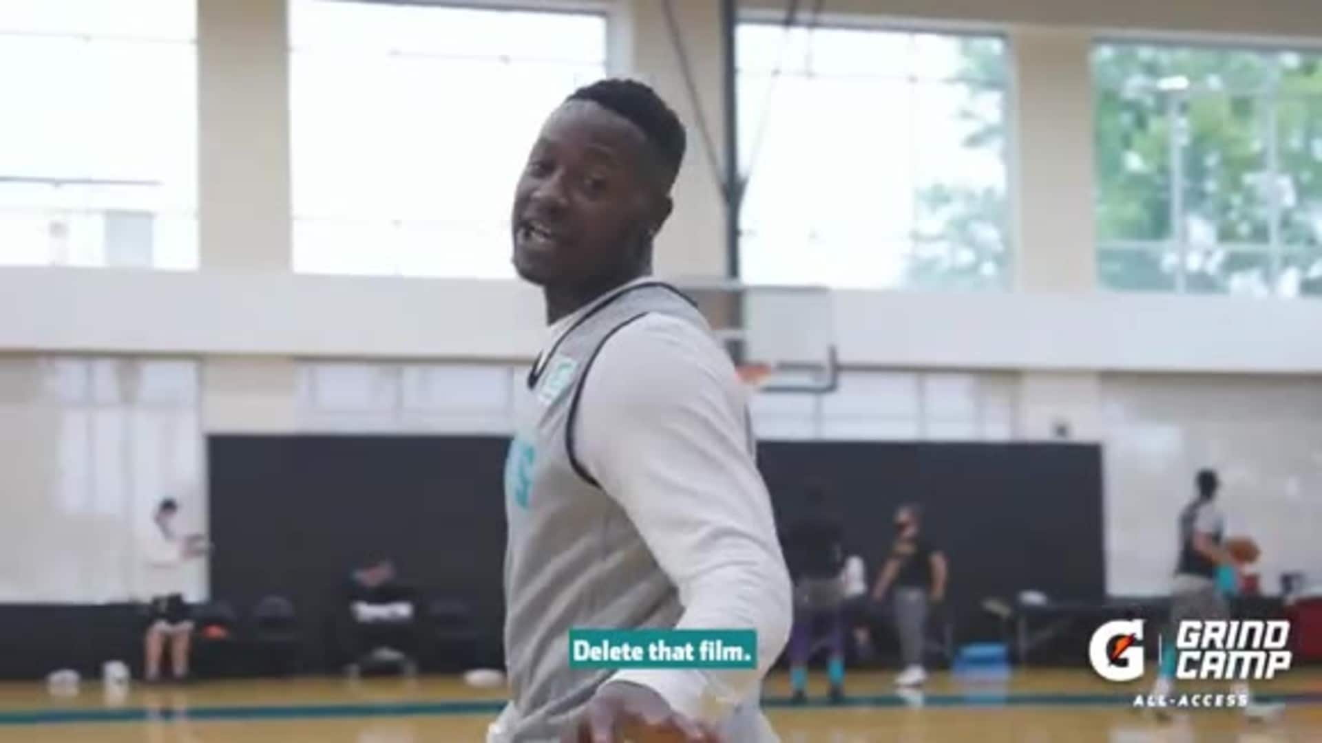 Terry Rozier Mic'd Up at Gatorade Grind Camp