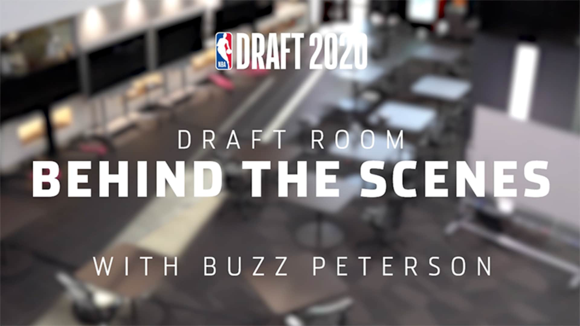 Hornets Draft Room Behind the Scenes with Buzz Peterson