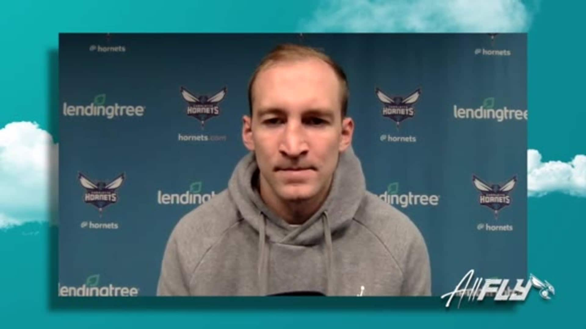 Hornets Media Availability | Cody Zeller - 12/3/20
