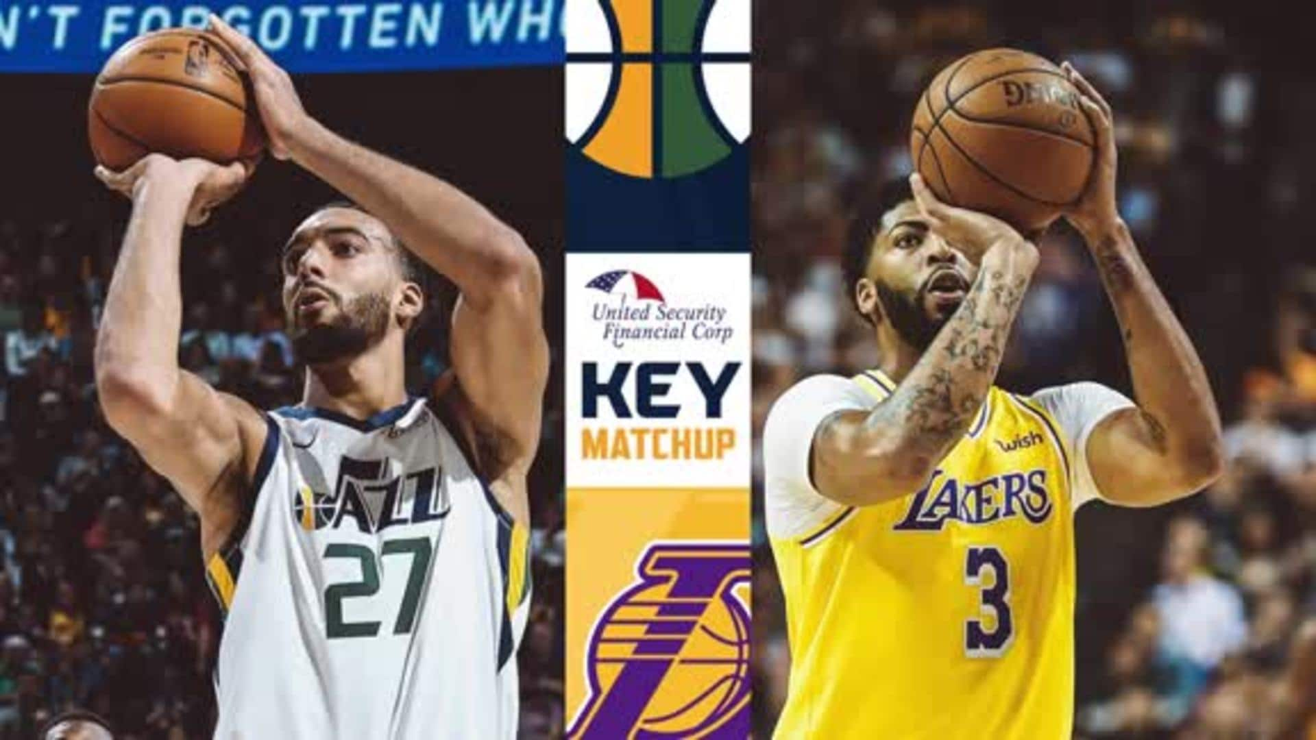 Key Matchup: Rudy Gobert vs. Anthony Davis