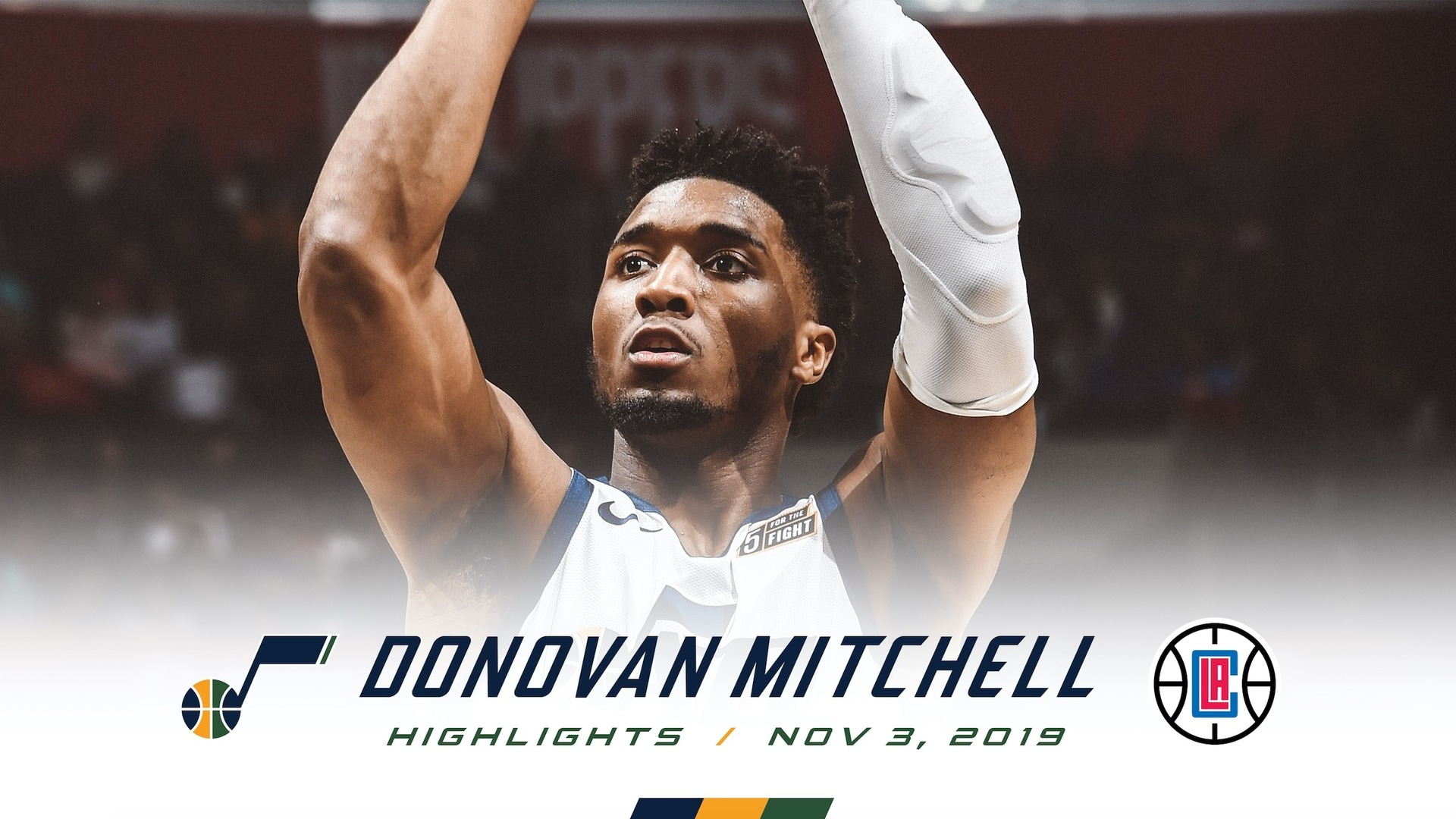 Highlights: Donovan Mitchell—36 points, 6 assists