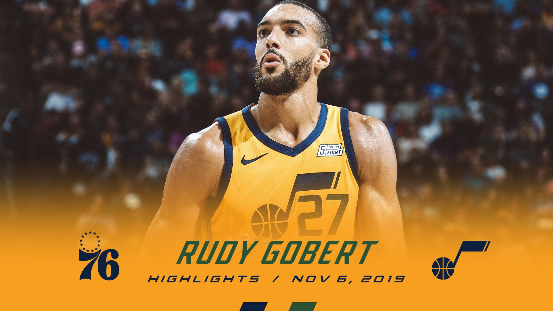 Highlights: Rudy Gobert—16 rebounds, 14 points, 3 assists