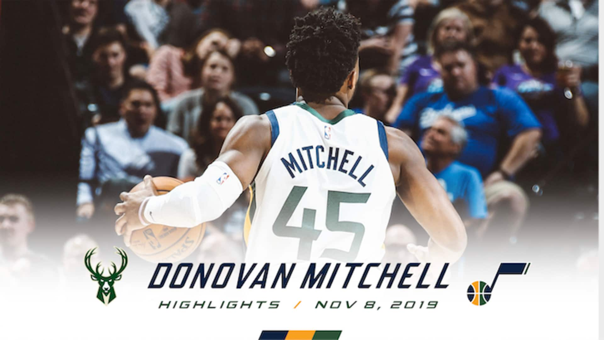 Highlights: Donovan Mitchell - 19 points, 6 assists