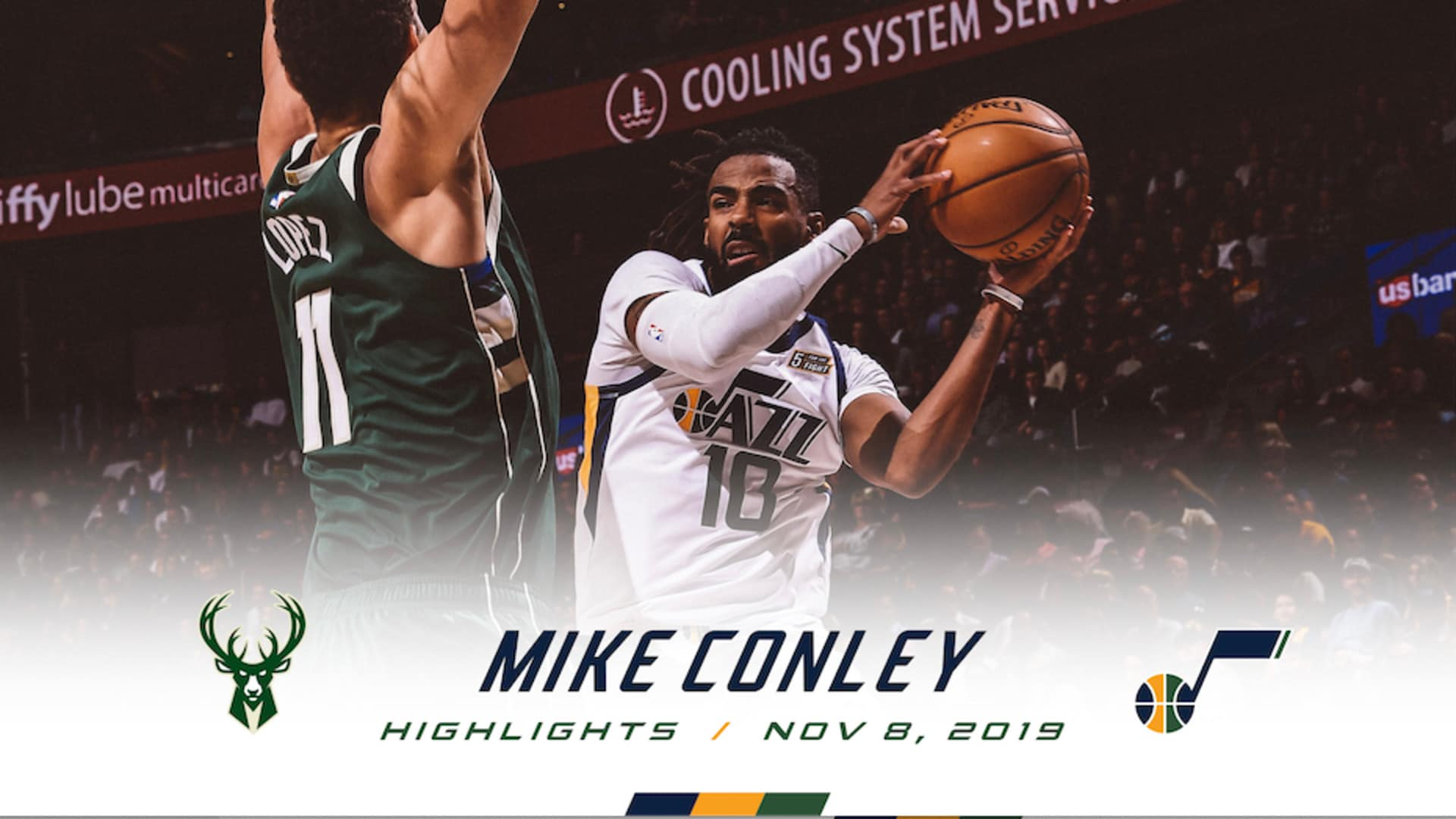 Highlights: Mike Conley - 20 points, 3 assists