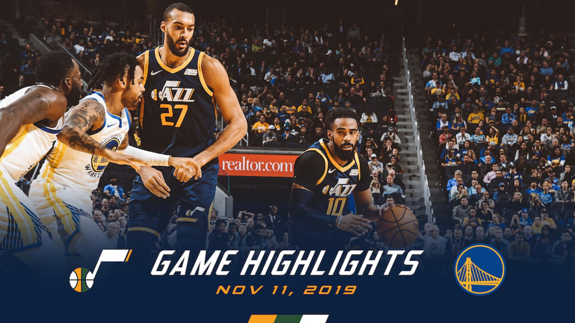 Highlights: Jazz 122 | Warriors 108