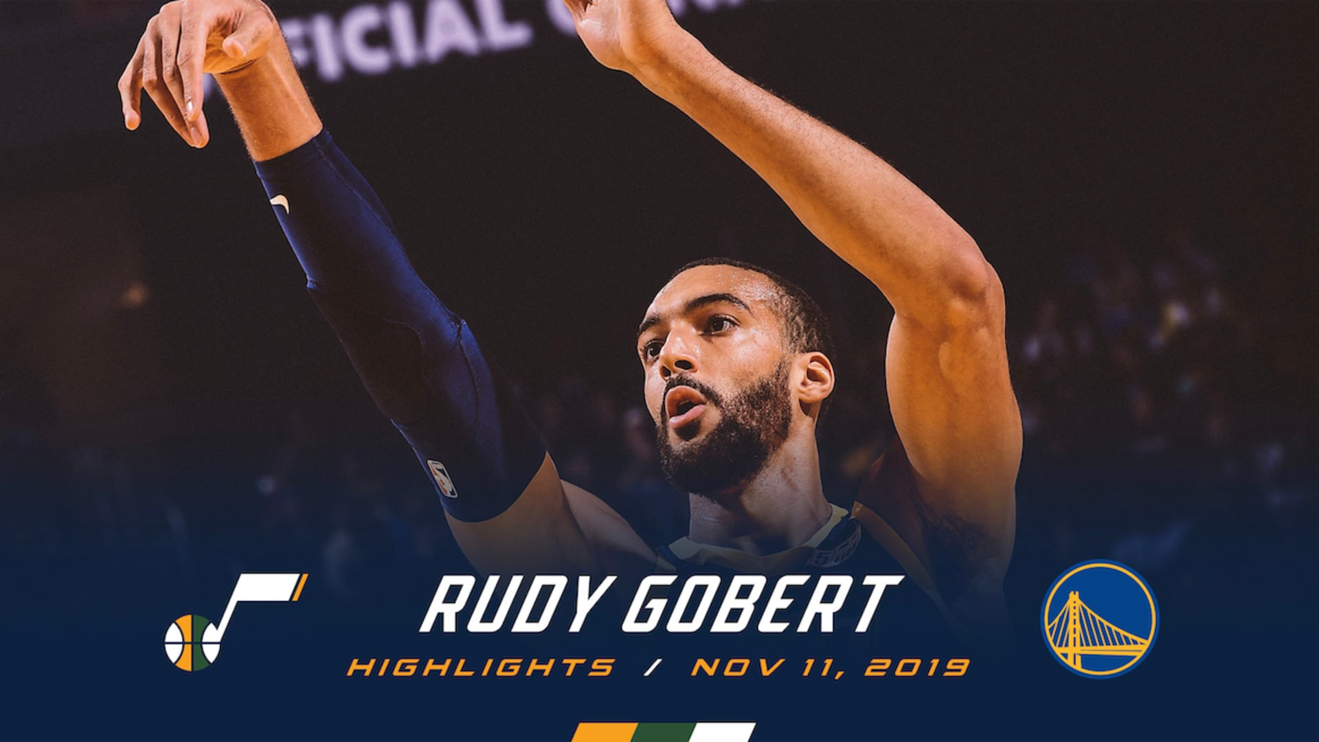 Highlights: Rudy Gobert - 25 points, 14 rebounds