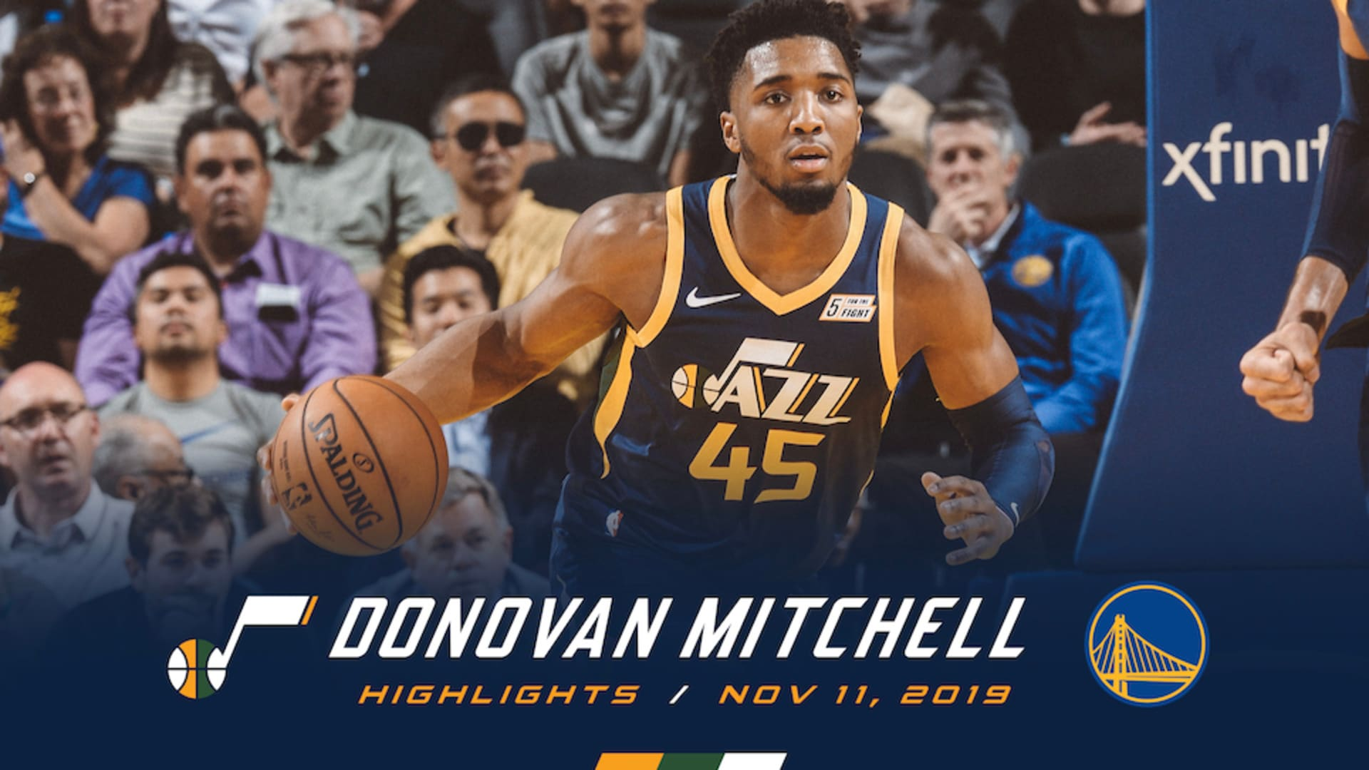 Highlights: Donovan Mitchell - 23 points, 8 rebounds