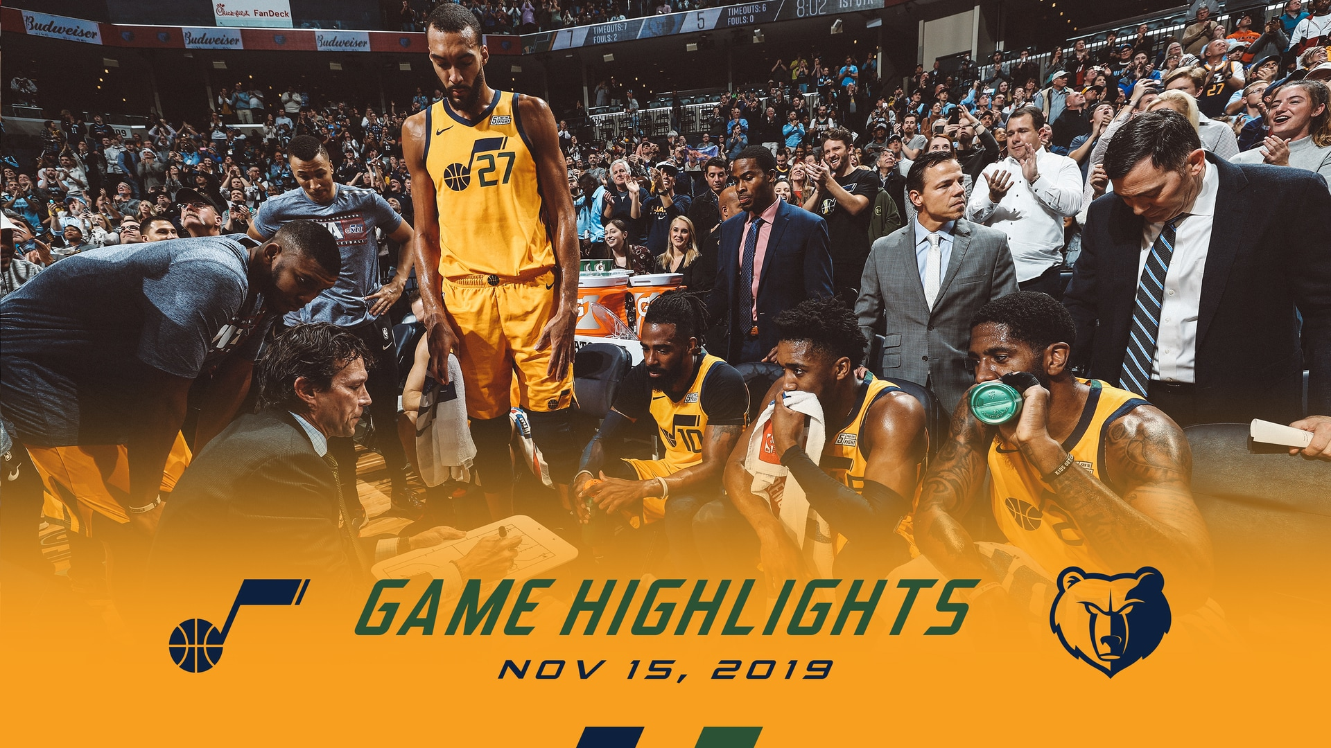Highlights: Jazz 106 | Grizzlies 107