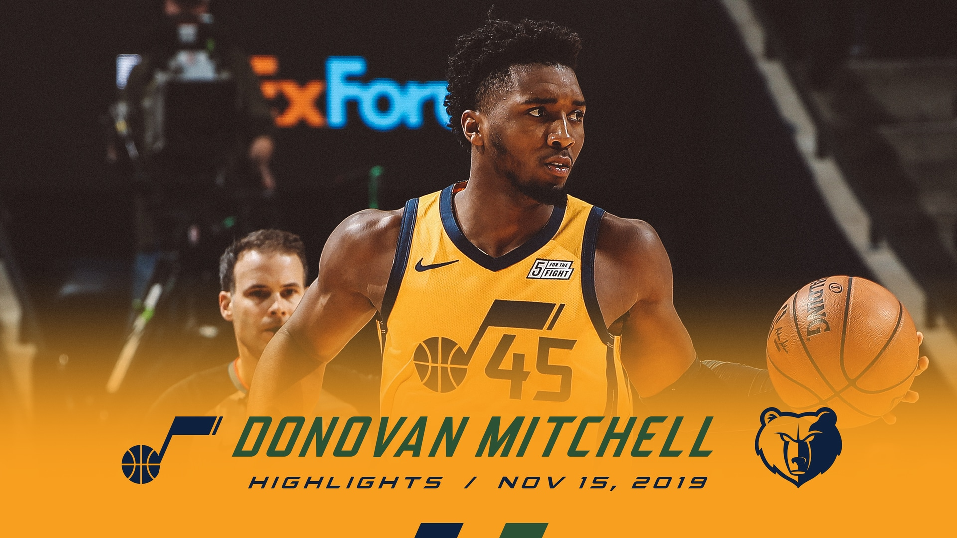 Highlights: Donovan Mitchell—29 points, 9 rebounds