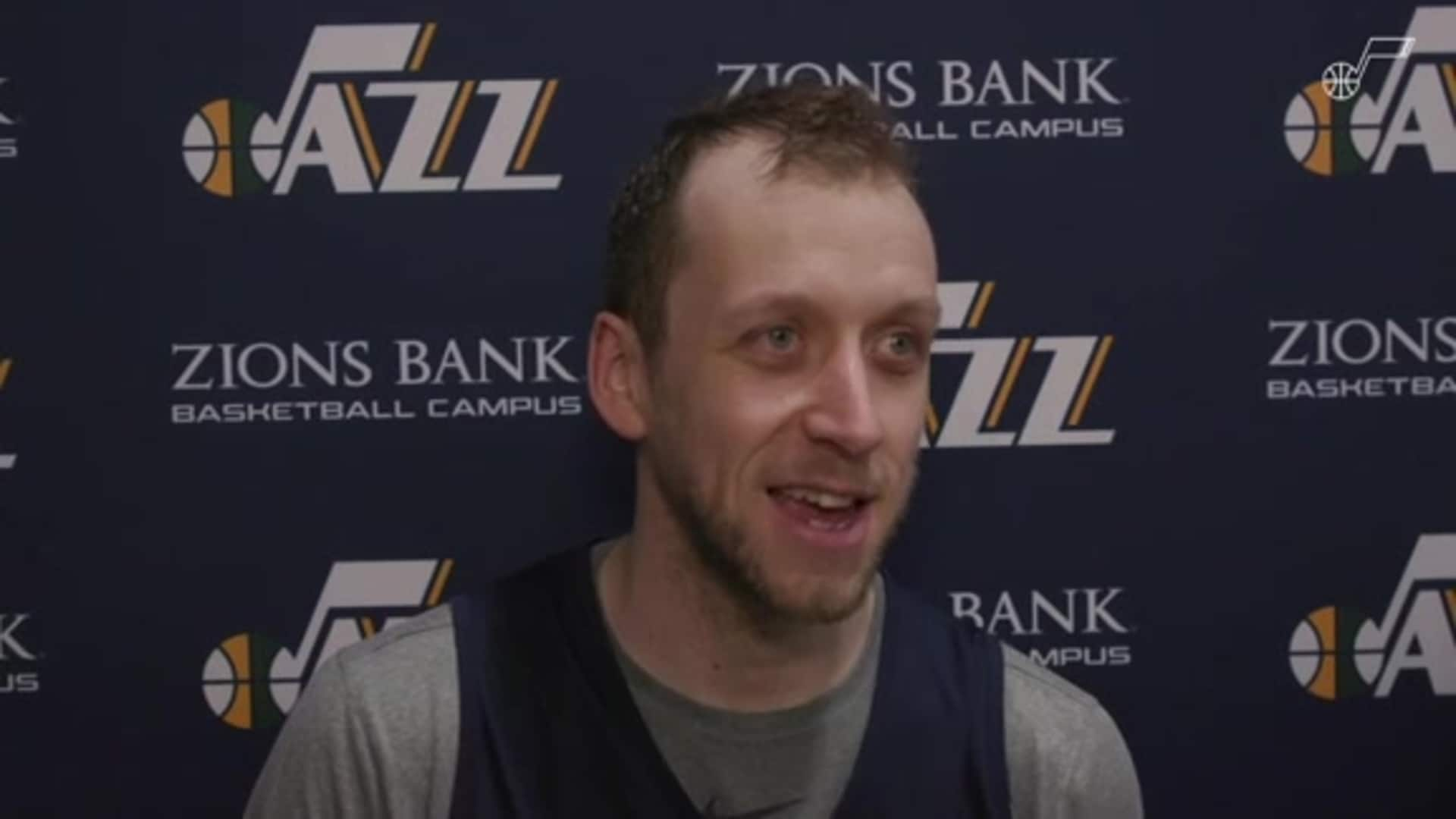 Practice Interviews: 11.17—Joe Ingles