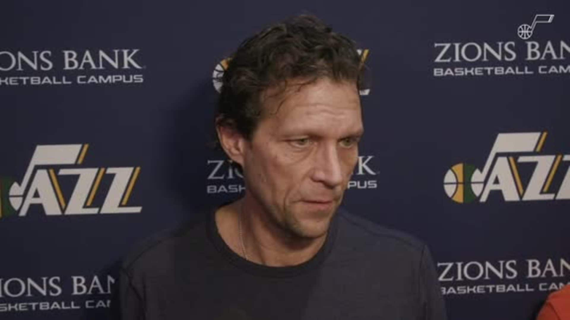 Shootaround Interview, 11.18 — Quin Snyder