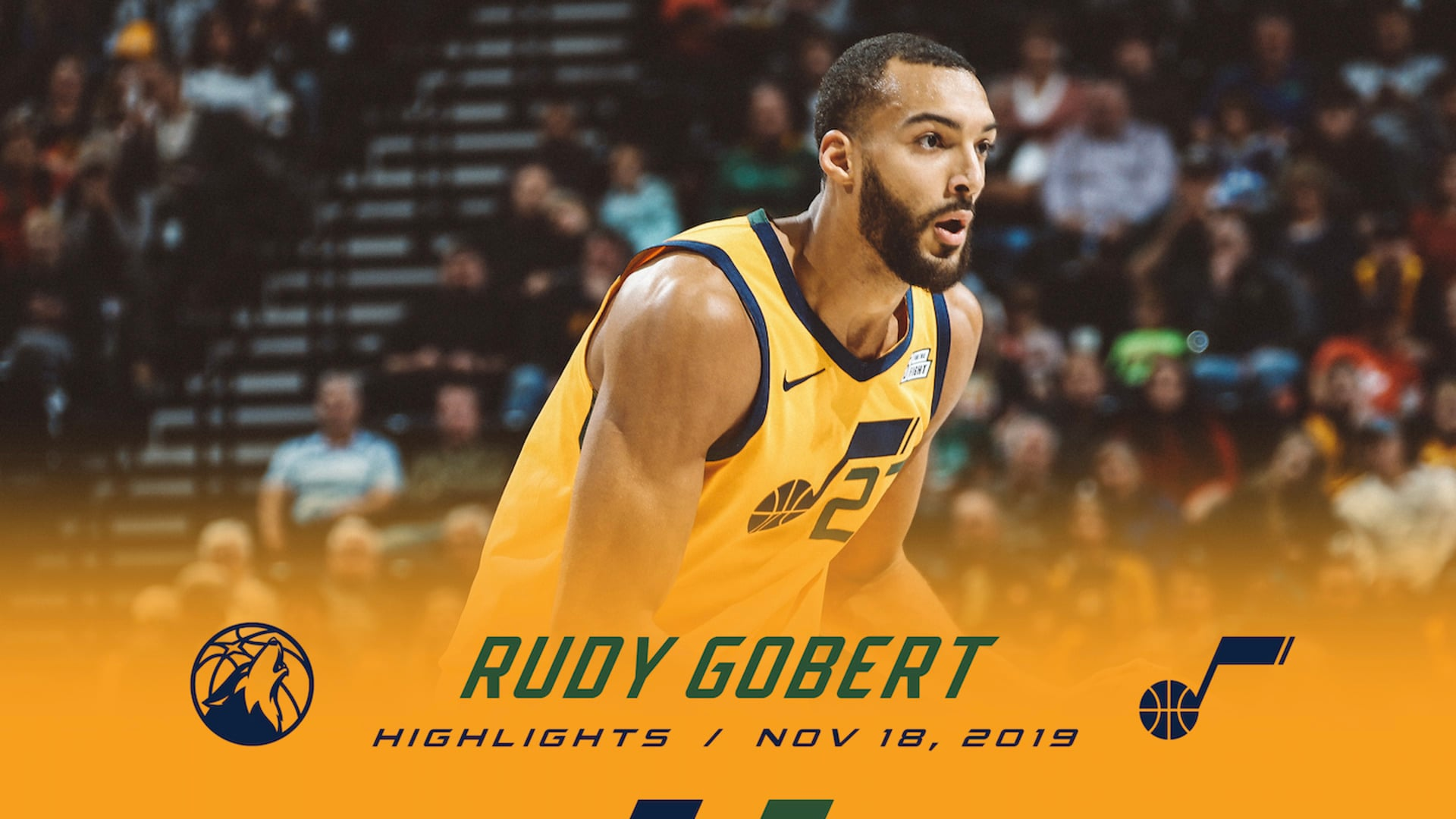 Highlights: Rudy Gobert — 16 points, 14 rebounds