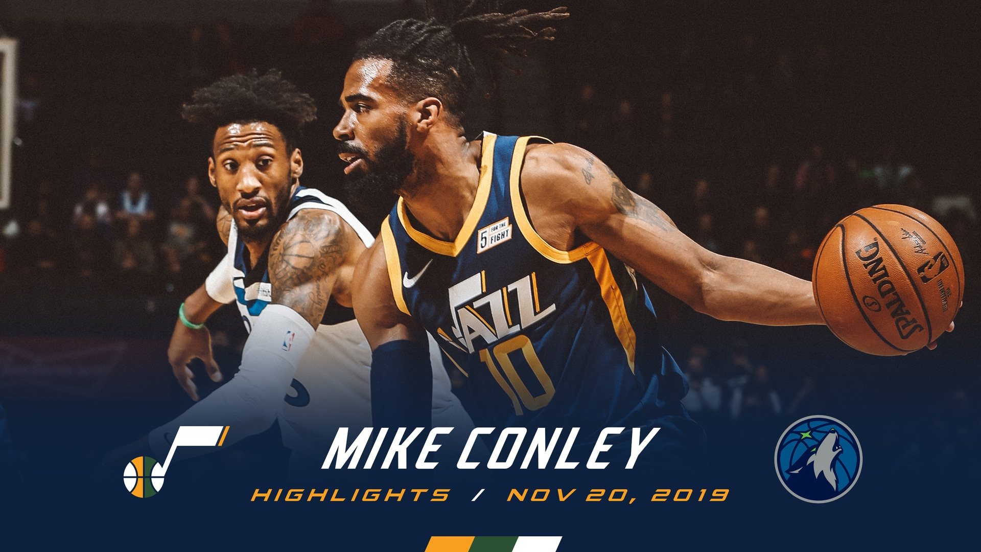 Highlights: Mike Conley—16 points, 8 assists