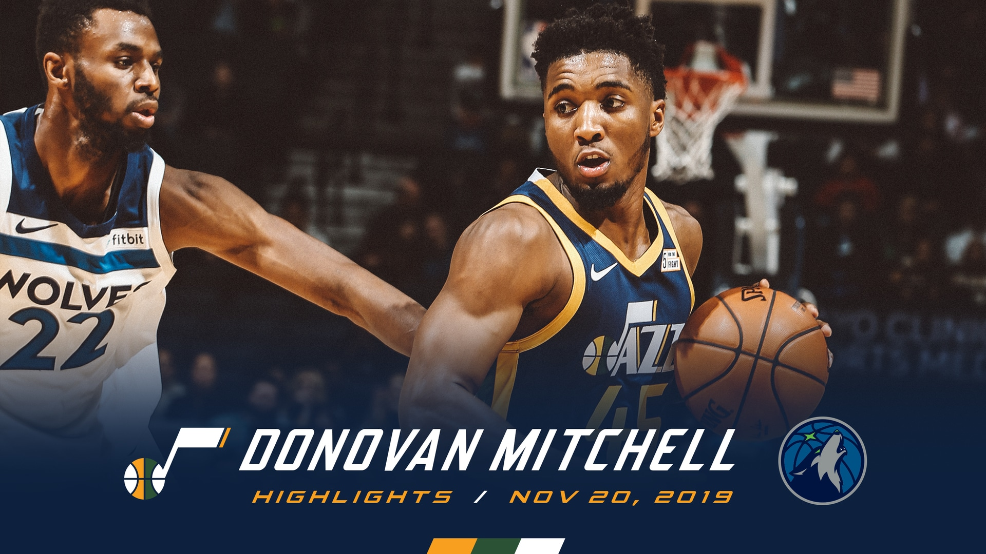 Highlights: Donovan Mitchell—26 points, 5 3pm
