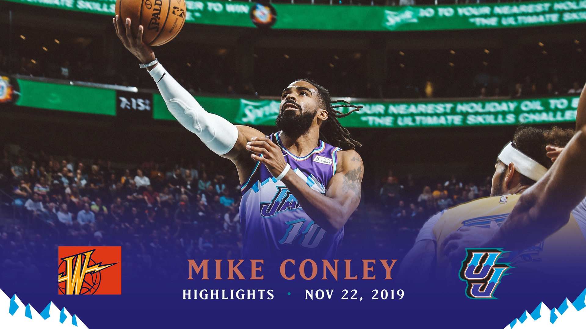 Highlights: Mike Conley—27 points, 4 assists