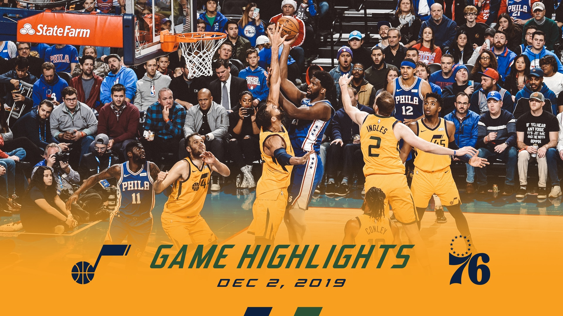 Highlights: Jazz 94 | Sixers 103