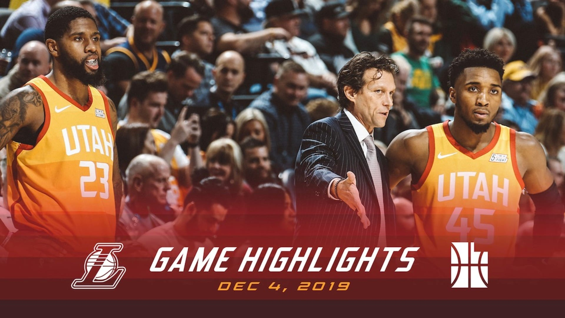 Highlights: Jazz 96 | Lakers 121