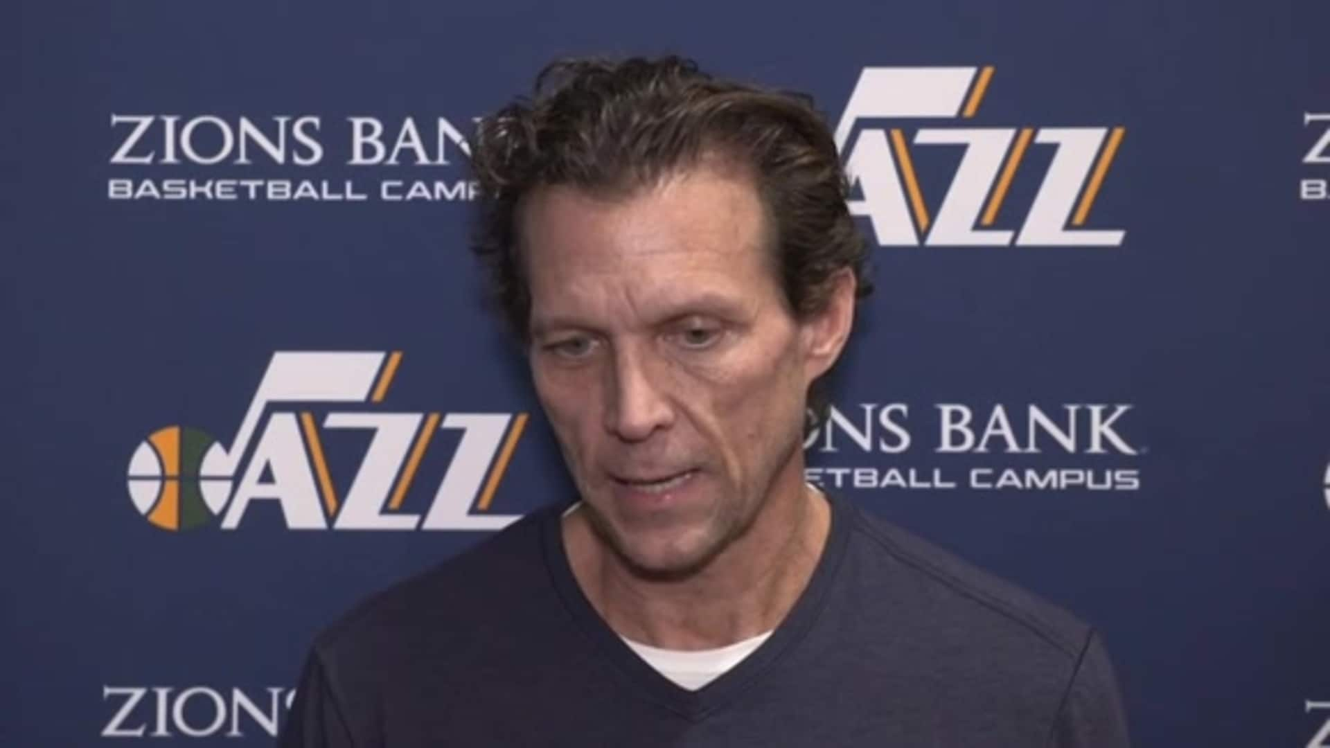Practice Interviews, 12.6  — Coach Quin Snyder