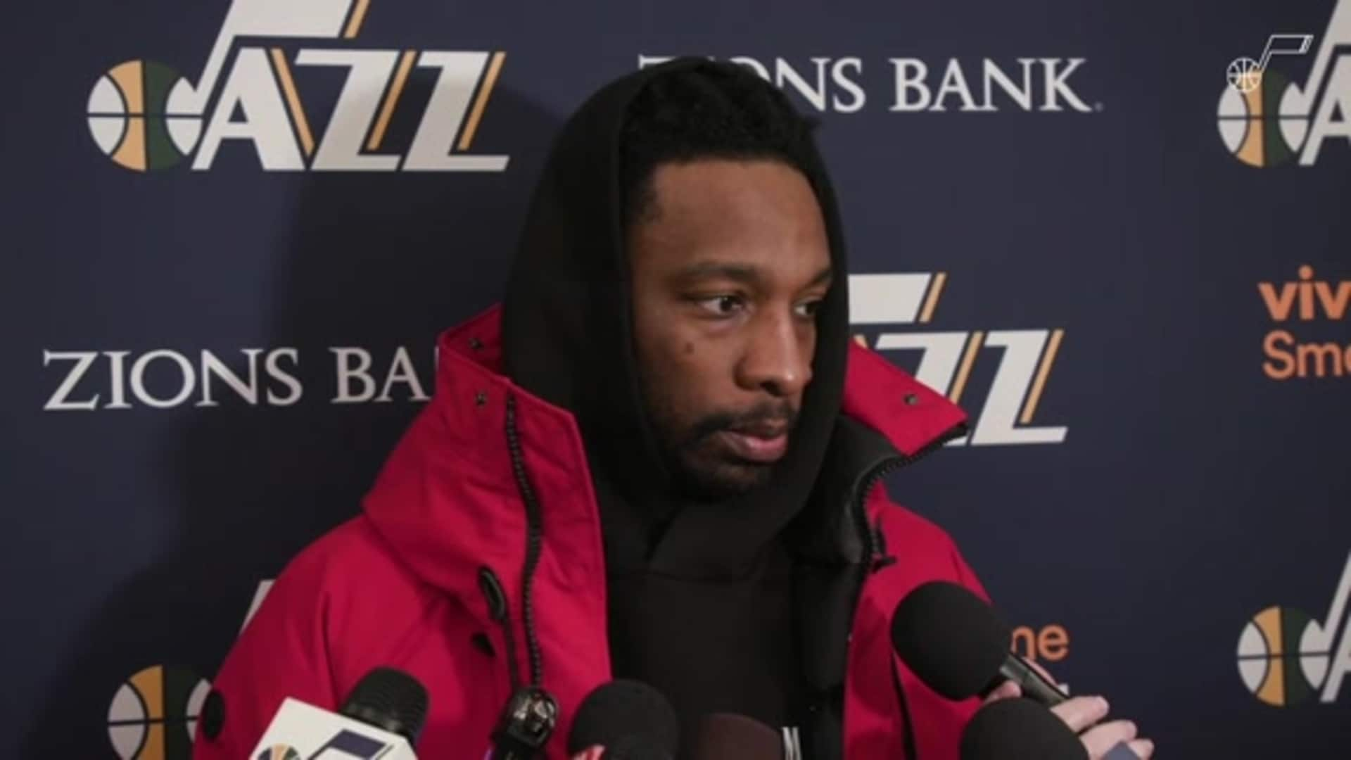 Postgame Interviews, 12.7 — Jeff Green