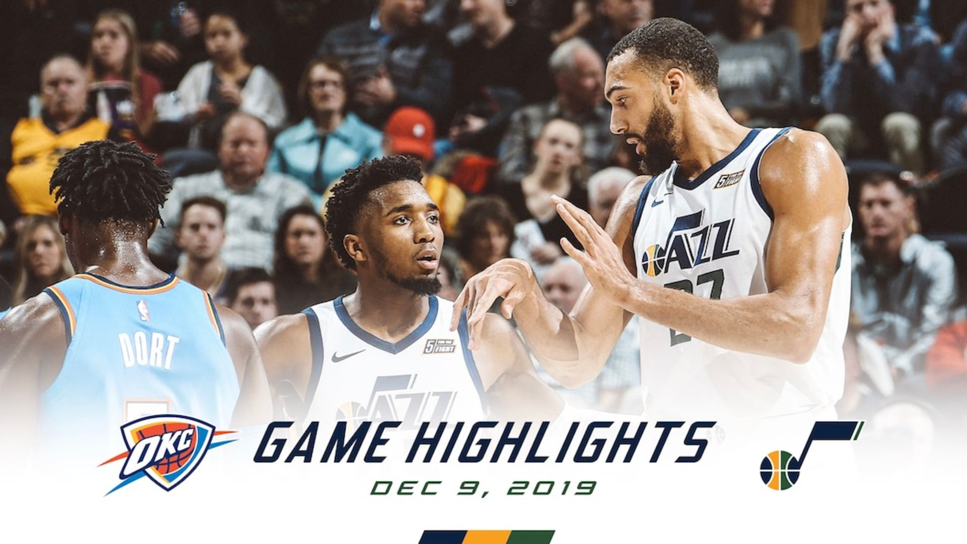 Highlights: Jazz 90 | Thunder 104