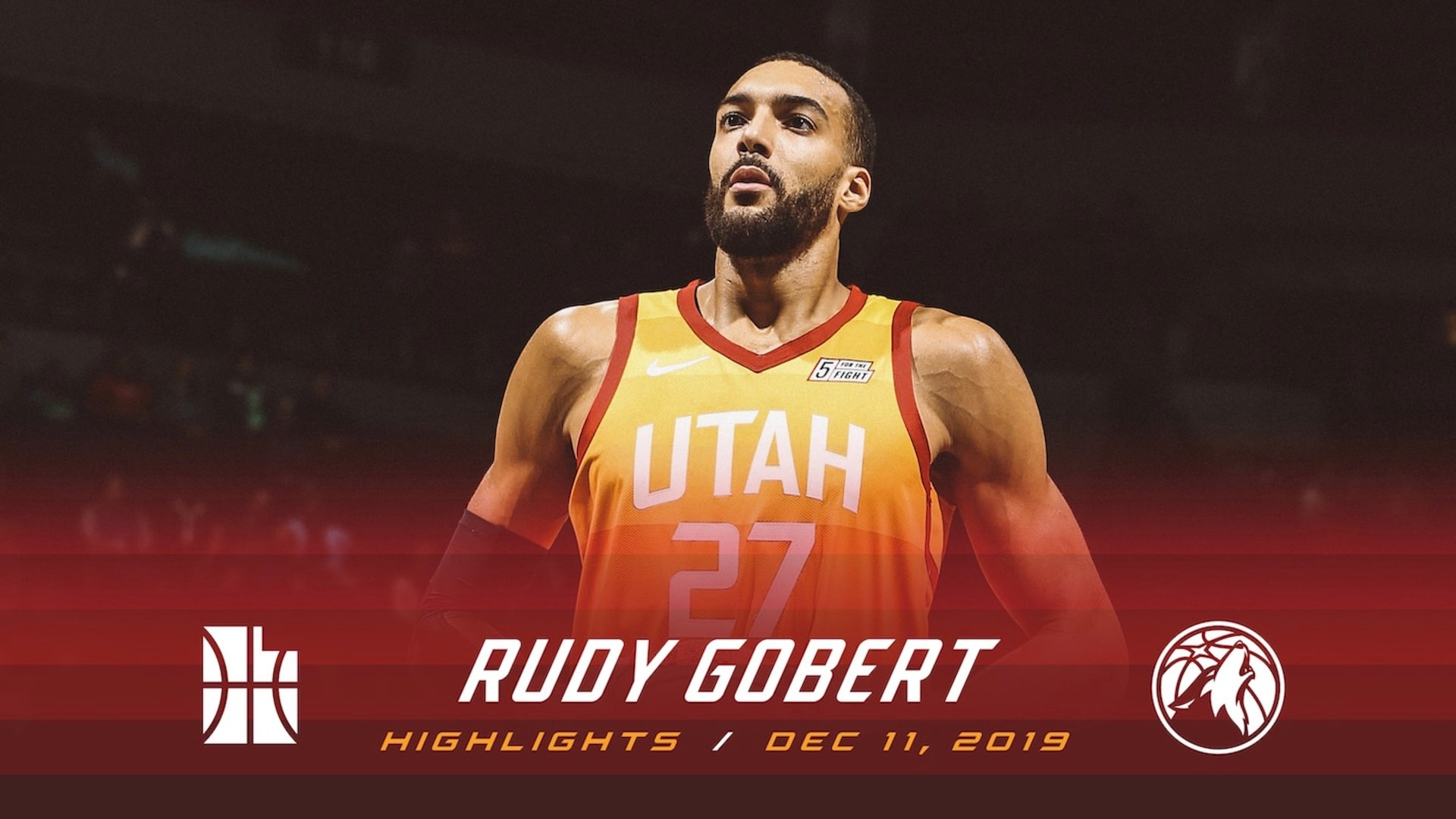 Highlights: Rudy Gobert — 20 points, 16 rebounds