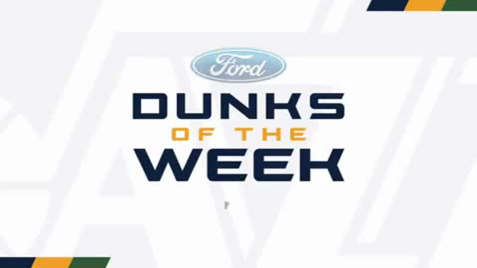 Dunks of the Week - 12.12.19