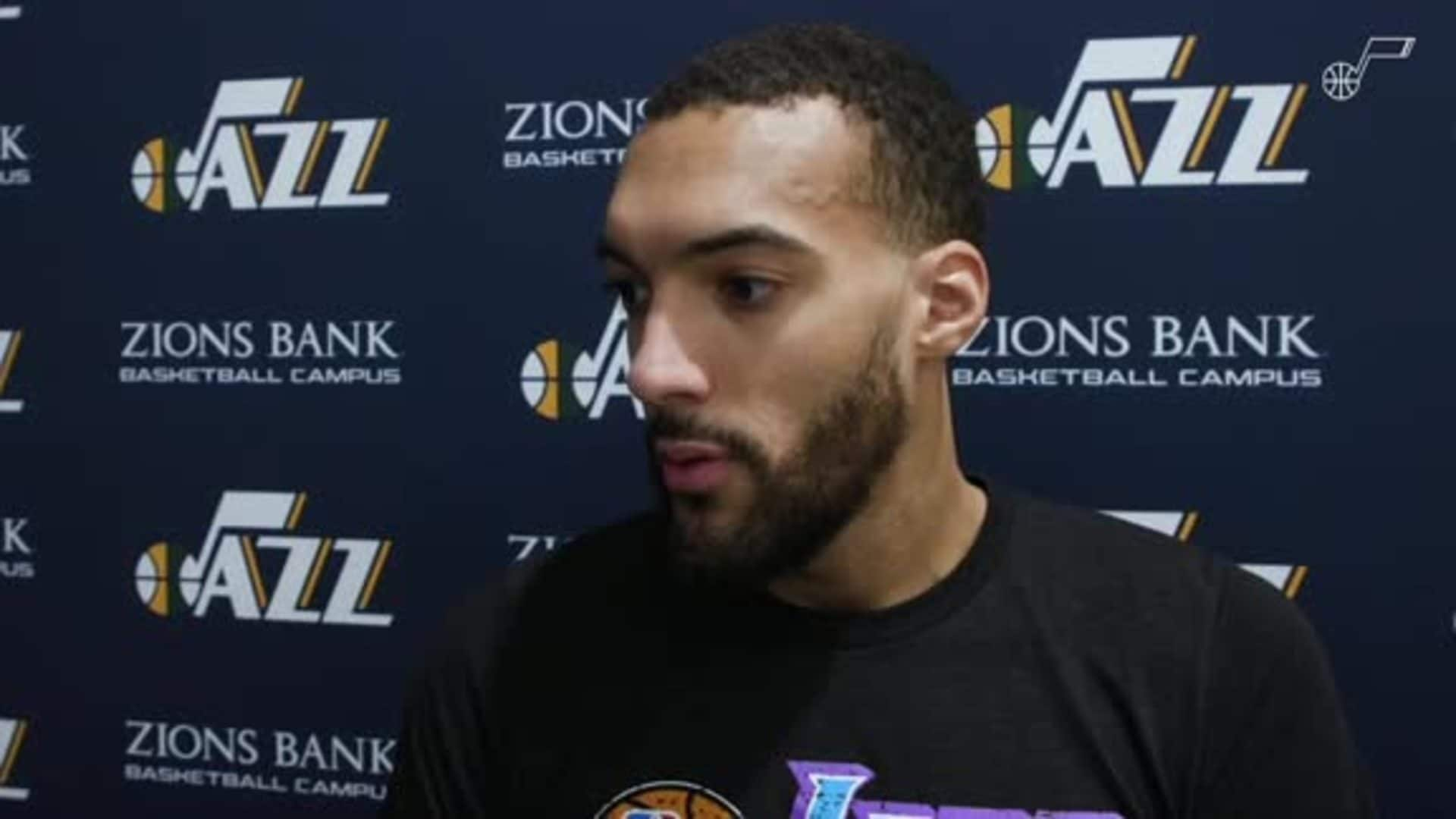 Shootaround Interviews, 12.13—Rudy Gobert