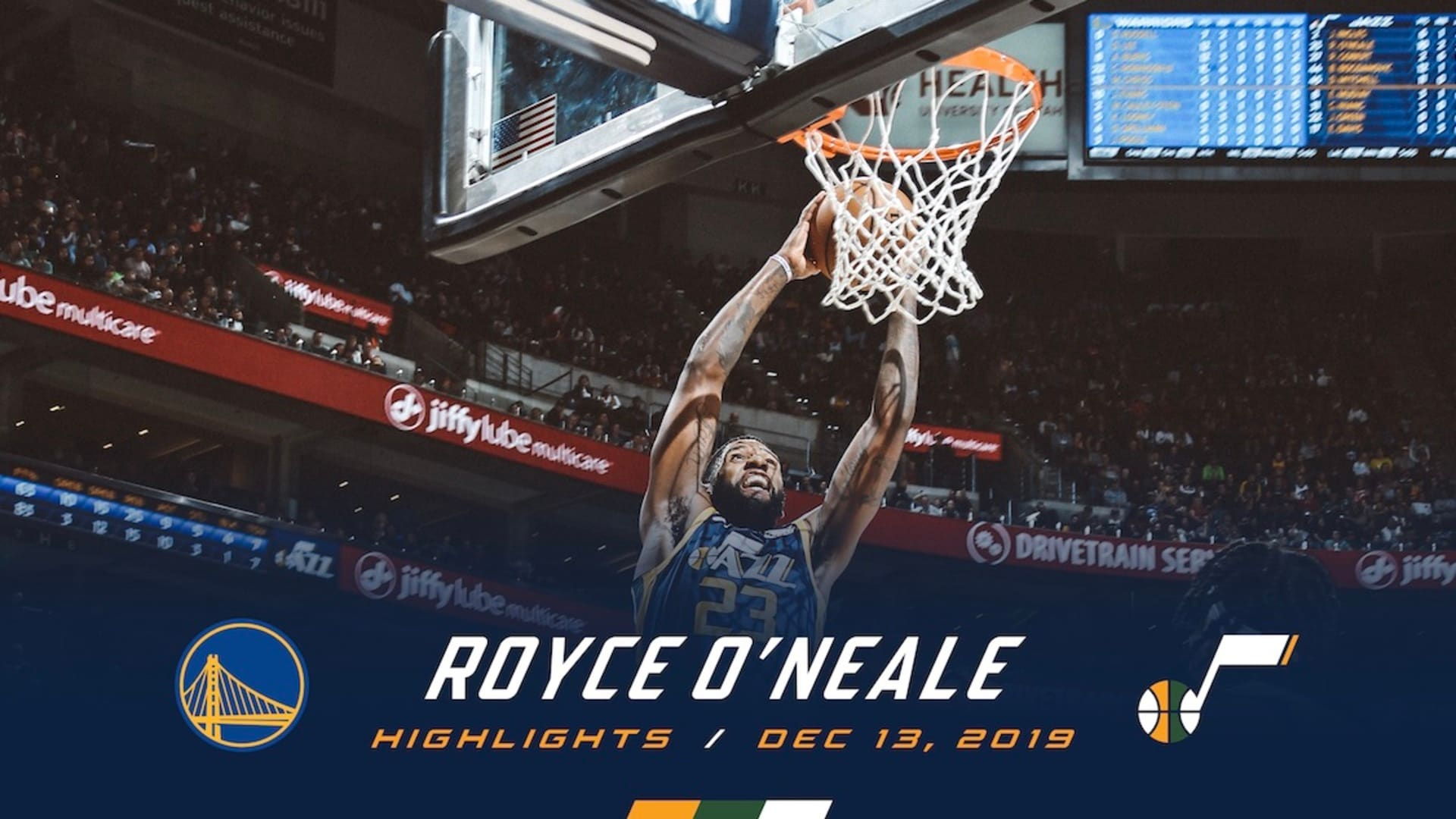 Highlights: Royce O'Neale — 14 points, 4 assists
