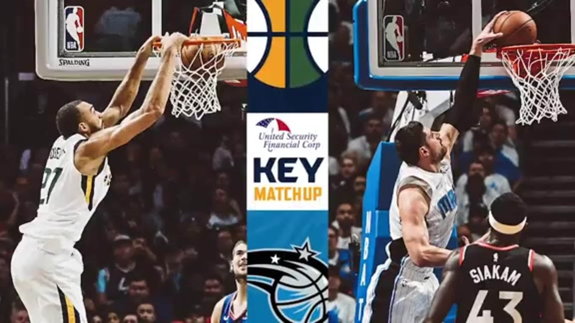 Key Matchup: Rudy Gobert vs. Nikola Vucevic