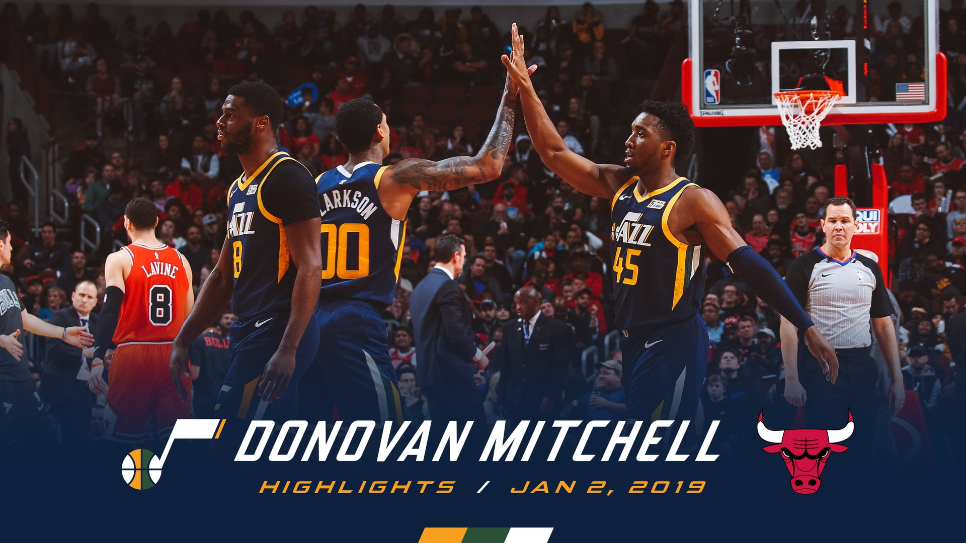 Highlights: Donovan Mitchell—17 points, 7 assists