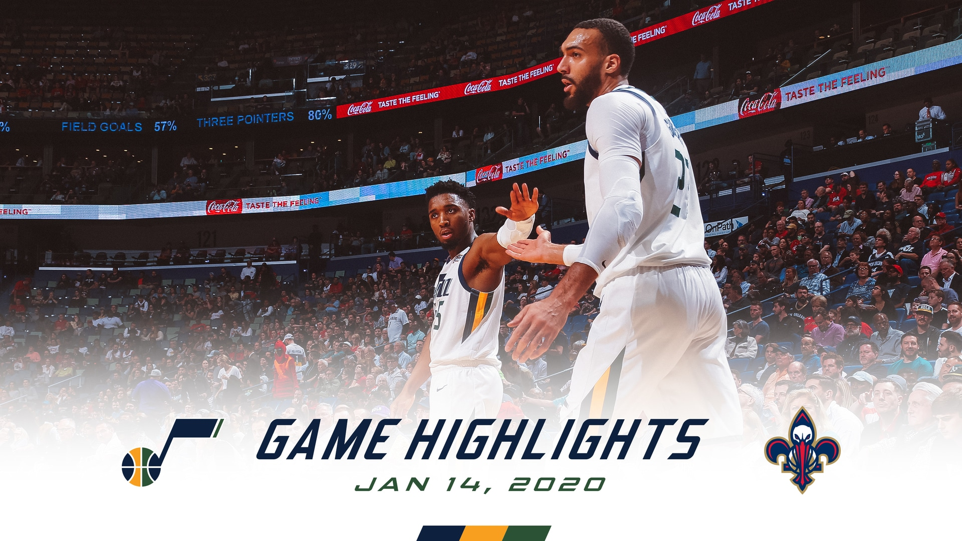 Highlights: Jazz 132 | Pelicans 138