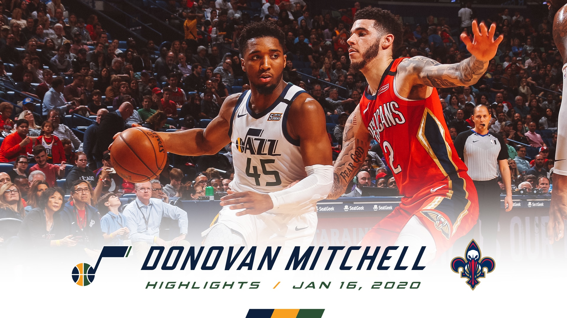 Highlights: Donovan Mitchell—46 points, 7 3pm