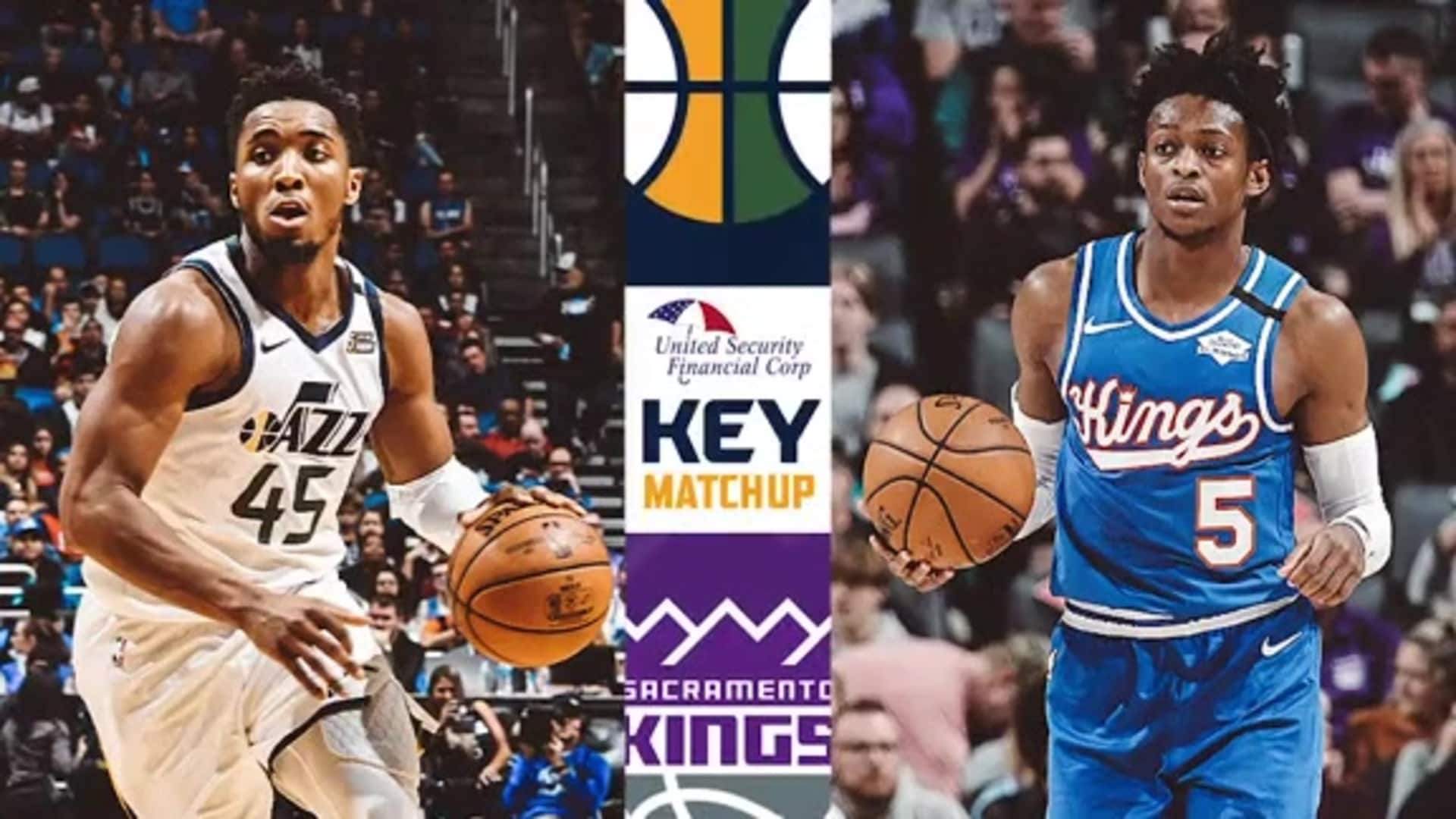 Donovan Mitchell vs. De'Aaron Fox - Key Matchup