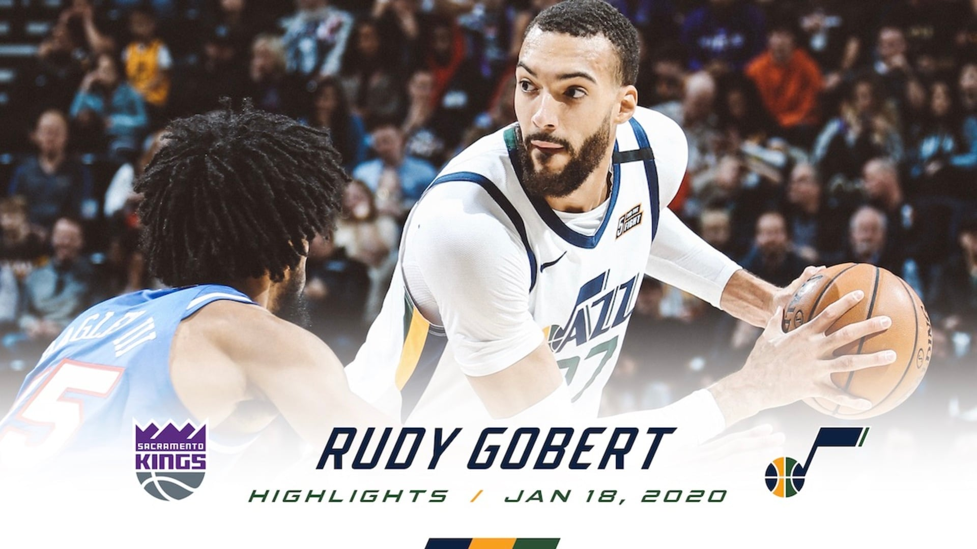 Highlights: Rudy Gobert — 28 points, 15 rebounds