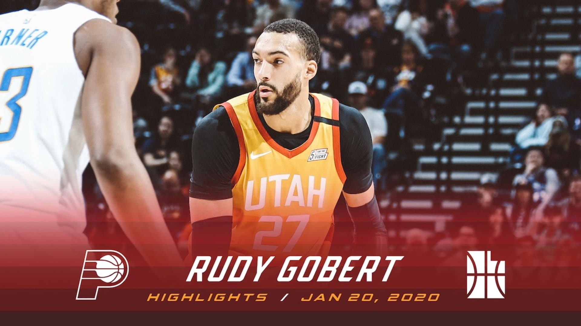 Highlights: Rudy Gobert — 20 points, 14 rebounds