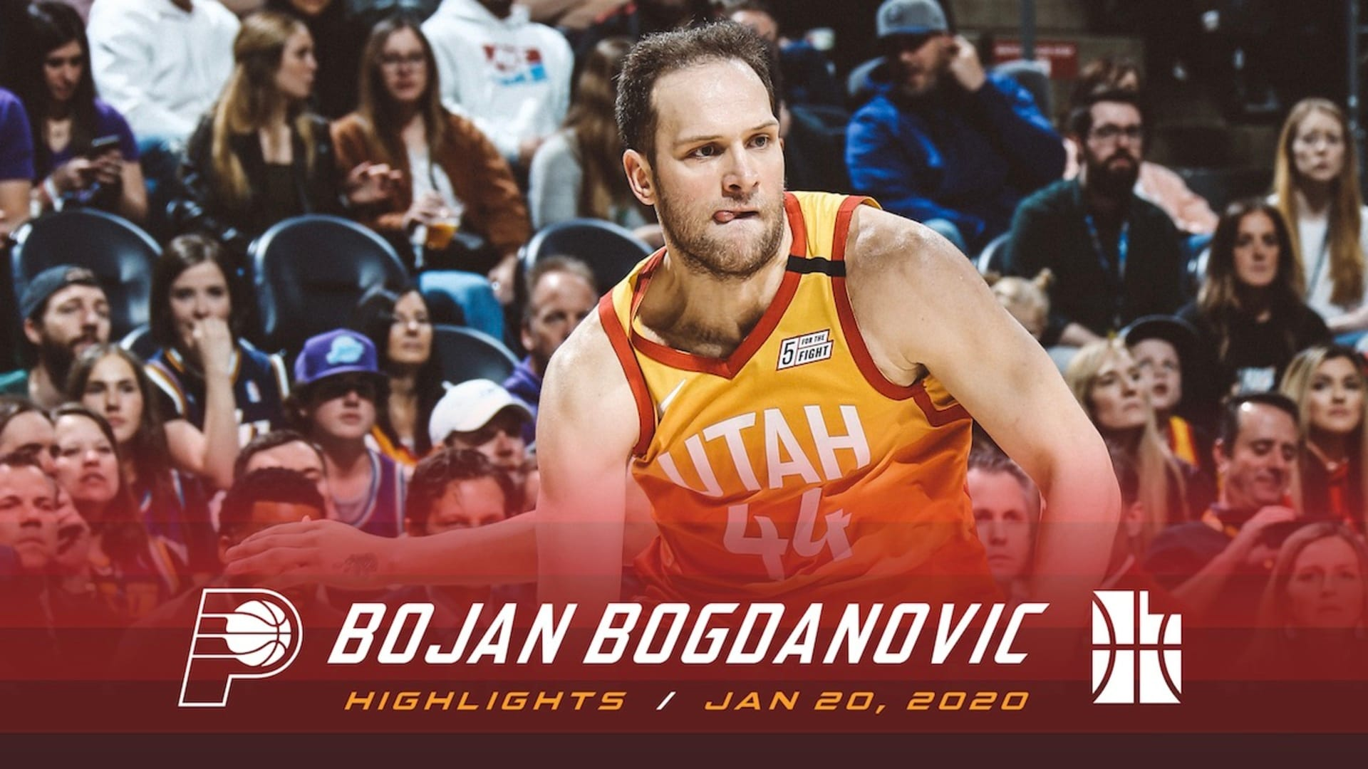 Highlights: Bojan Bogdanovic — 16 points, 4 rebounds