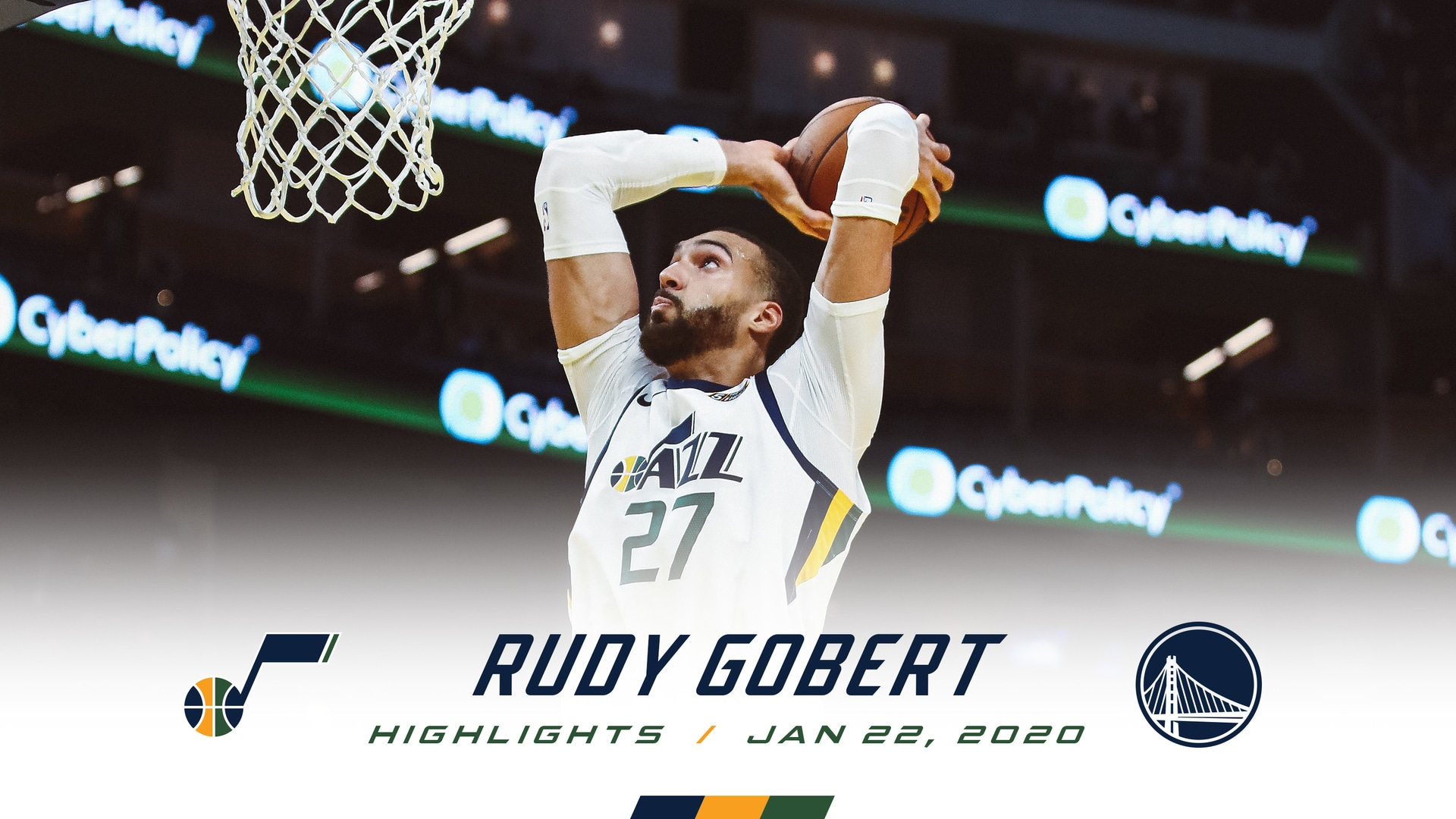 Highlights: Rudy Gobert—22 points, 15 rebounds