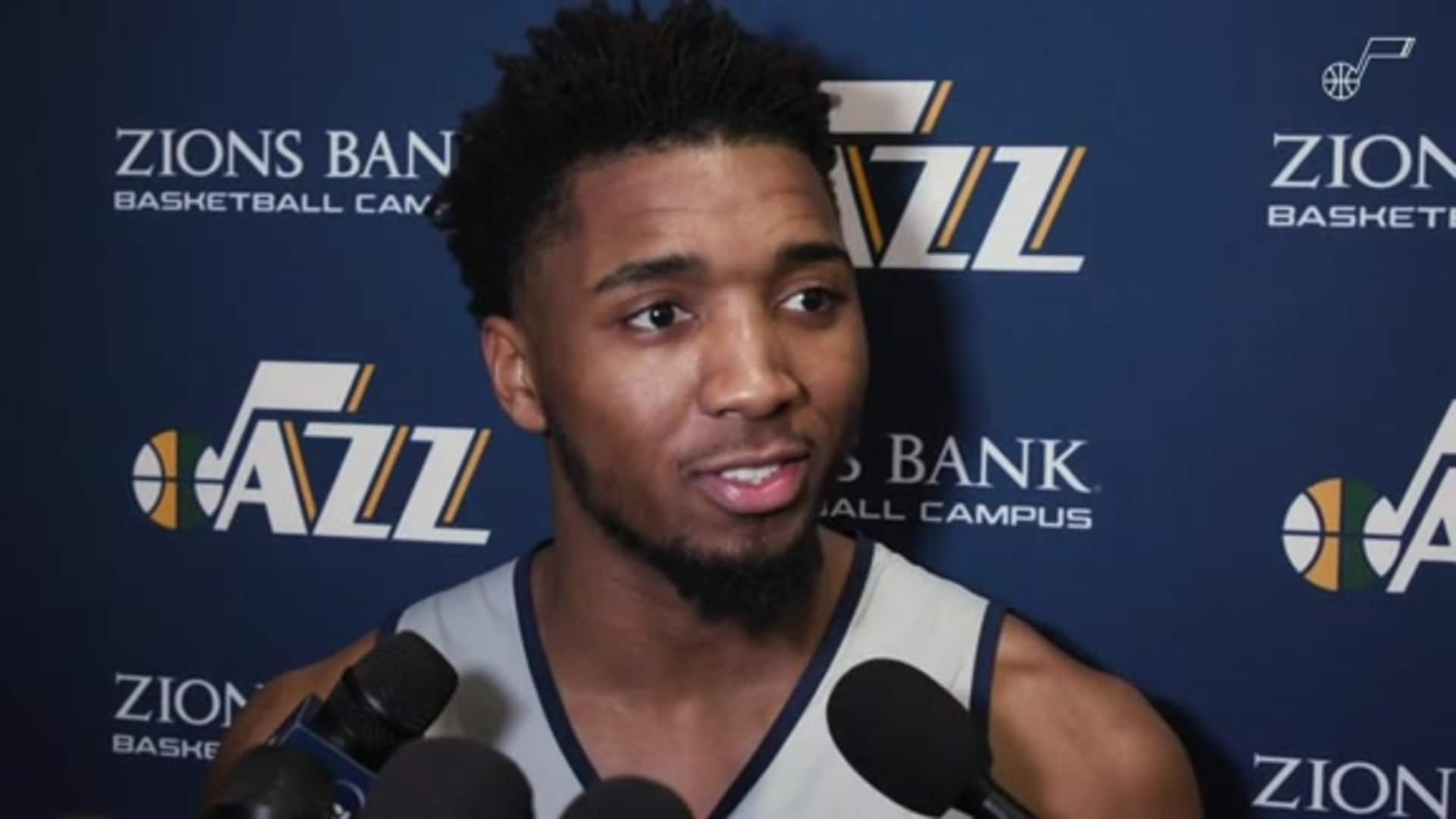 Shootaround Interviews: Donovan Mitchell reflects on Kobe's legacy