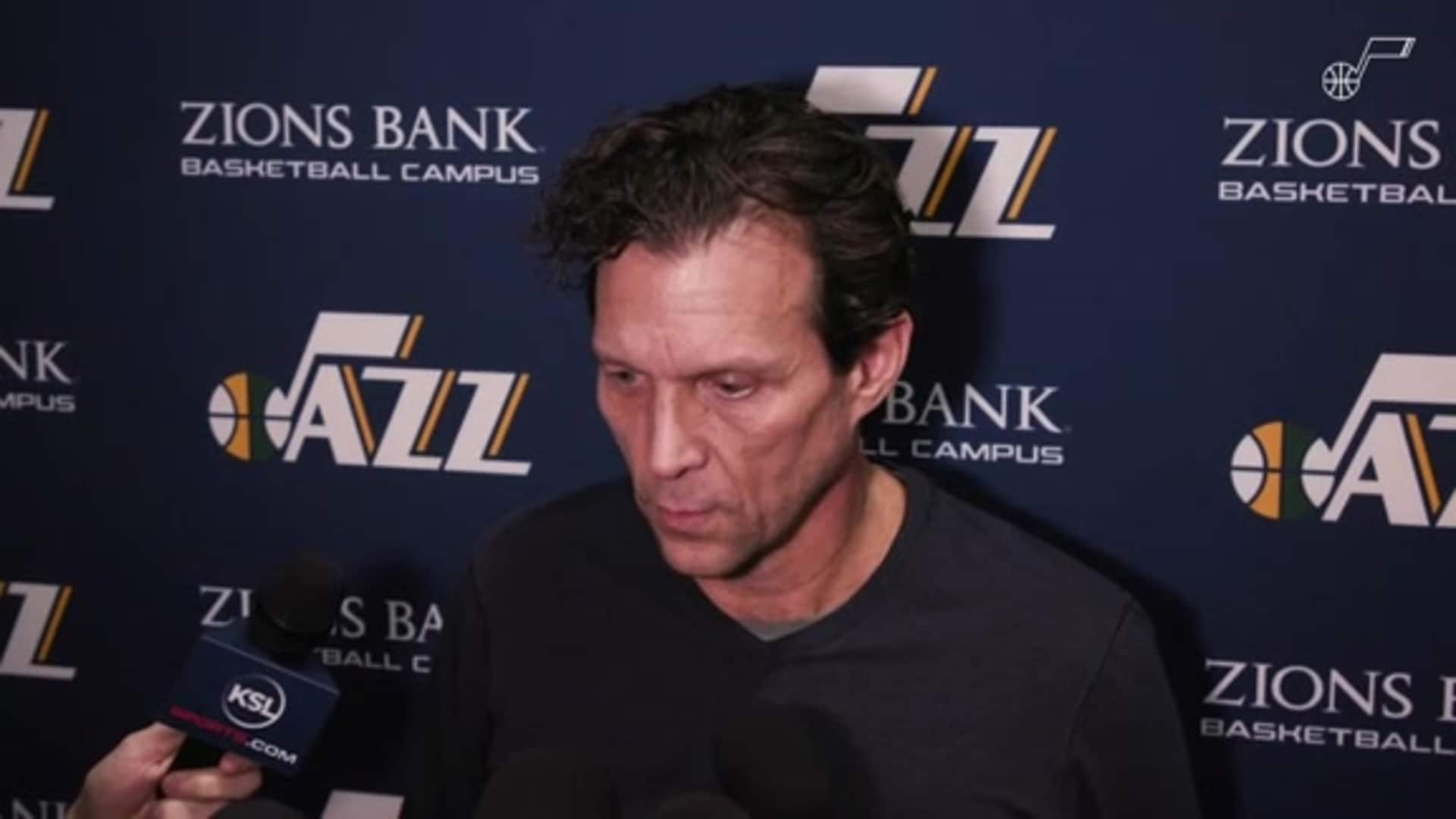 Shootaround Interviews: Coach Quin Snyder—'I think everybody is grieving'