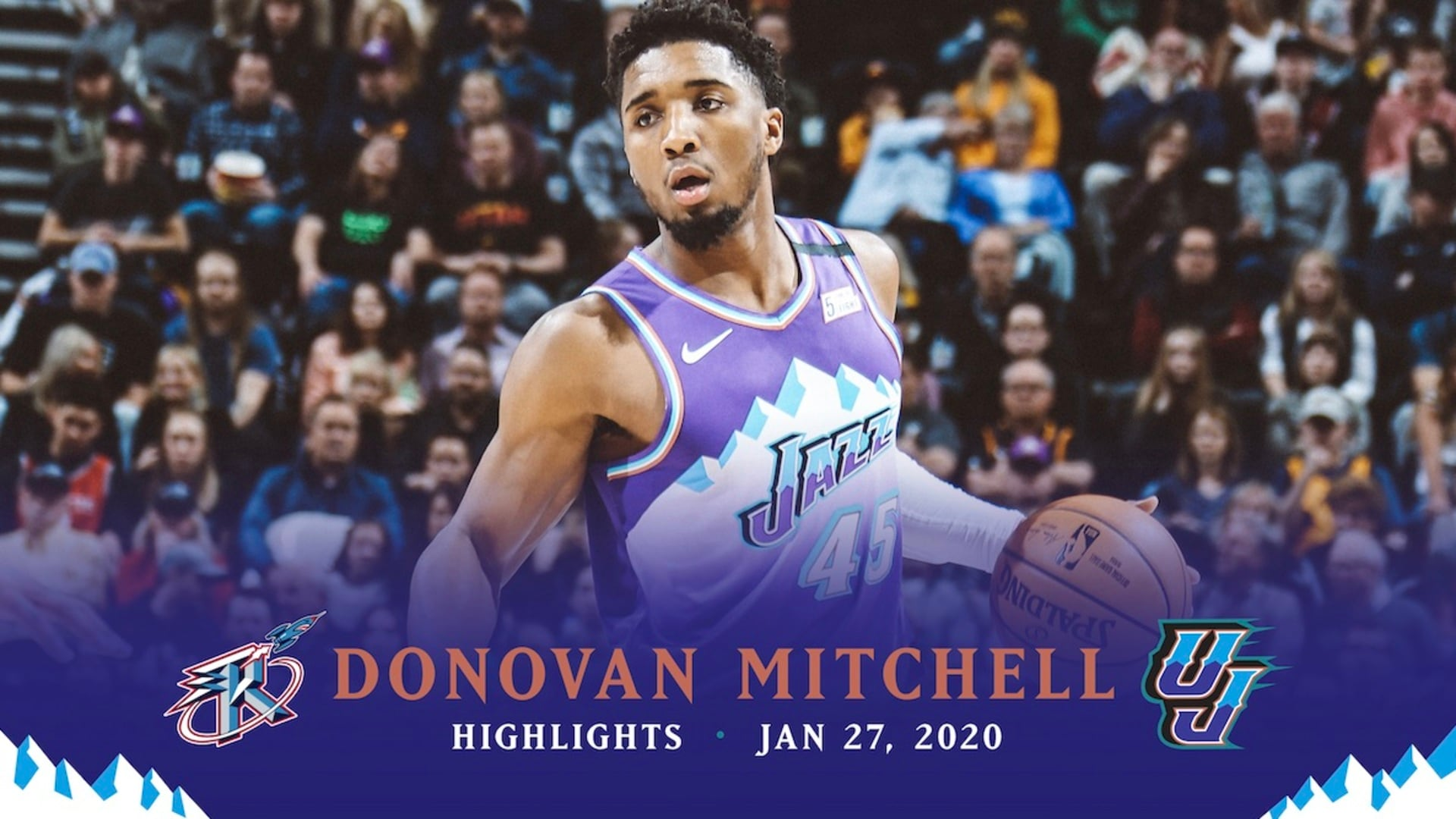 Highlights: Donovan Mitchell — 36 points, 3 rebounds
