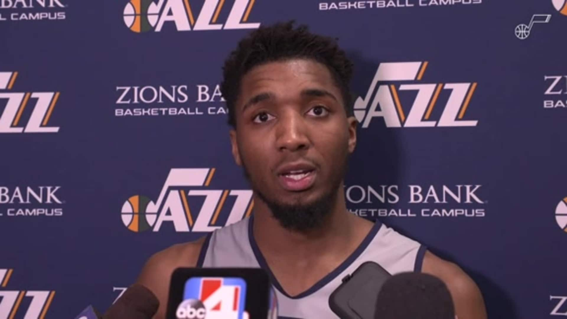 Shootaround Interviews, 2.5  — Donovan Mitchell