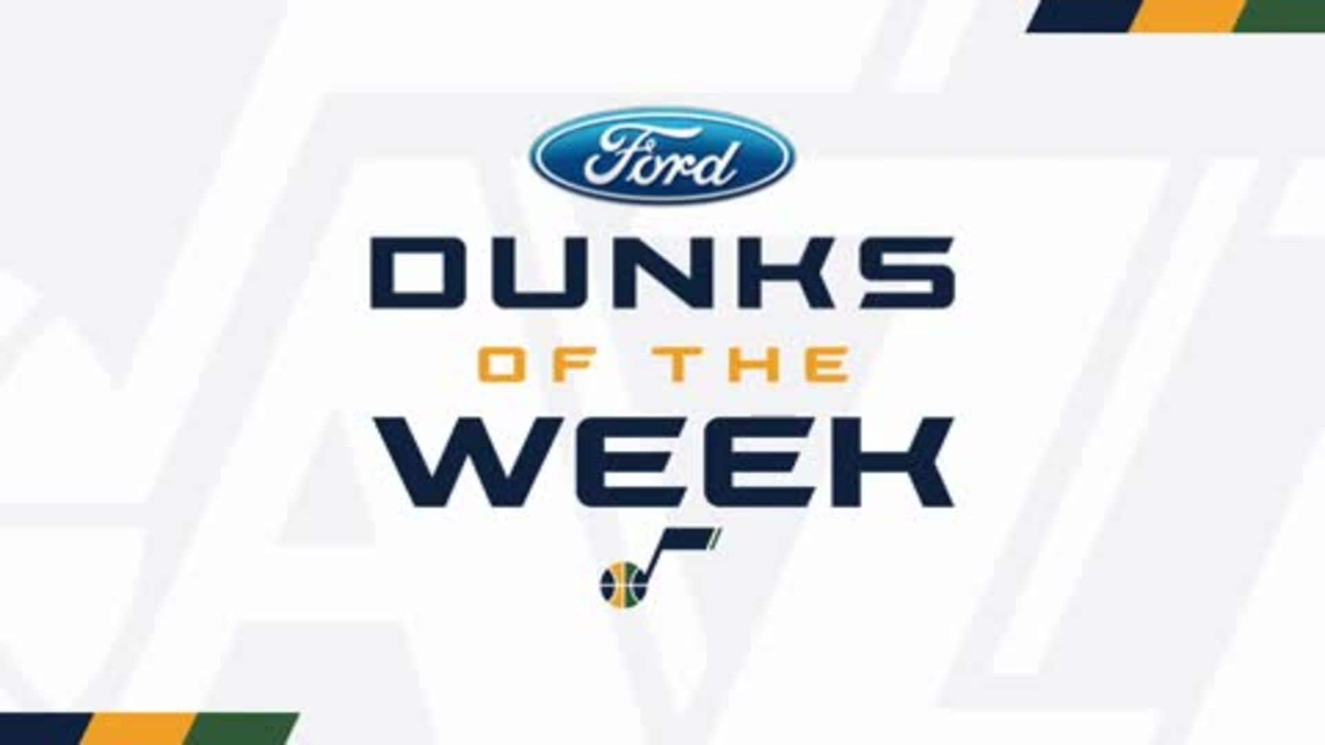 Dunks of the Week - 2.6.20