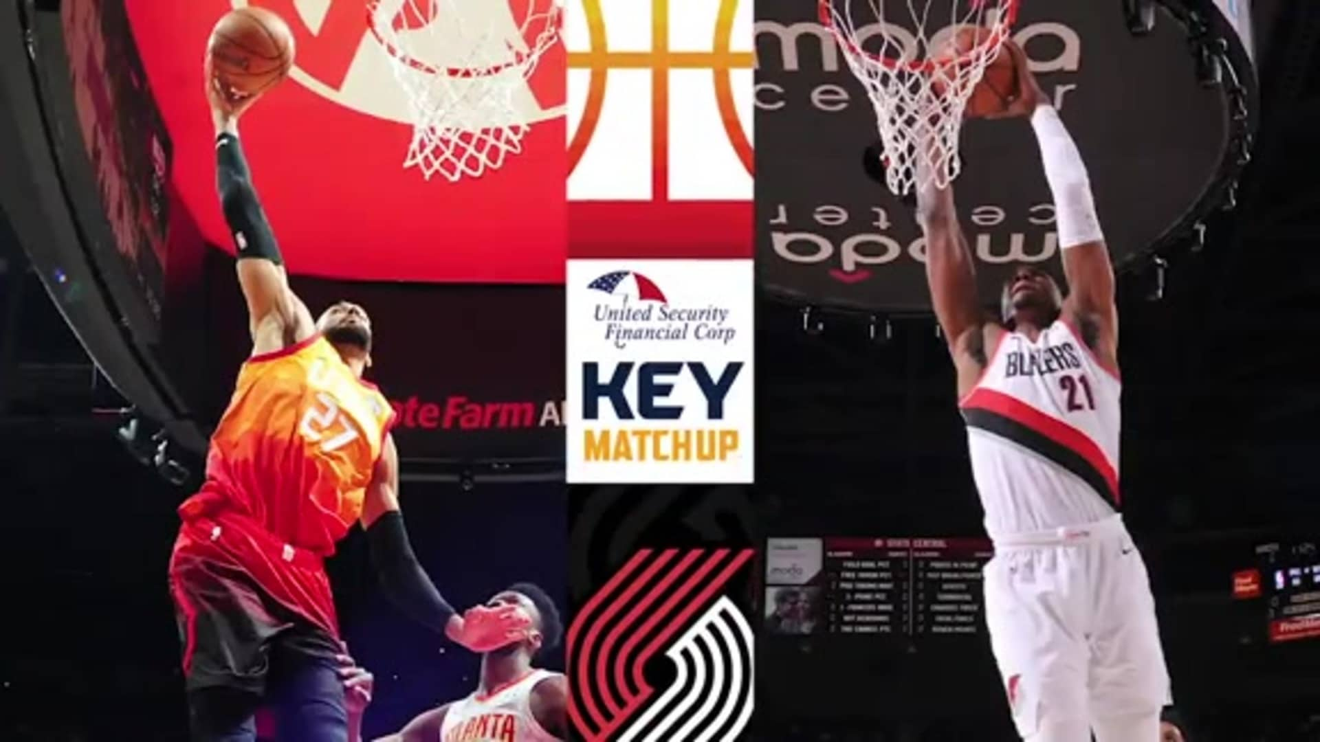 Gobert vs. Whiteside - Key Matchup