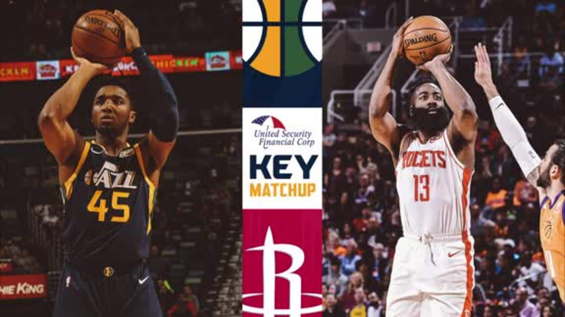 Key Matchup: Donovan Mitchell vs. James Harden