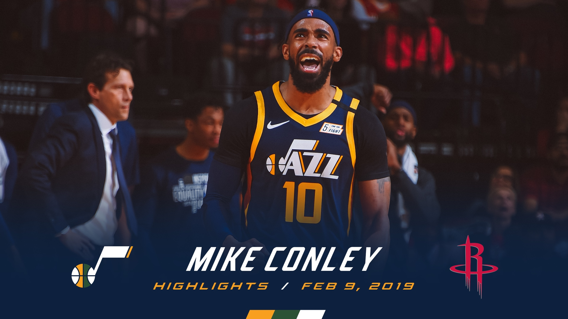 Highlights: Mike Conley—20 points, 6 assists