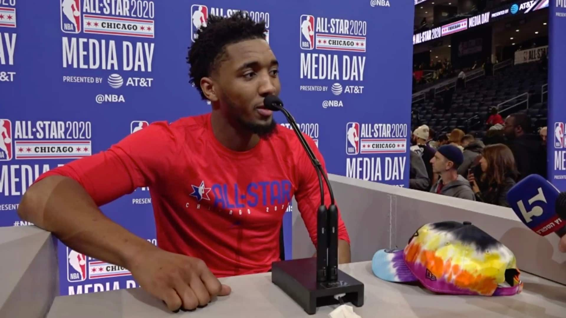 All-Star Press Conference, 2.15 - Donovan Mitchell