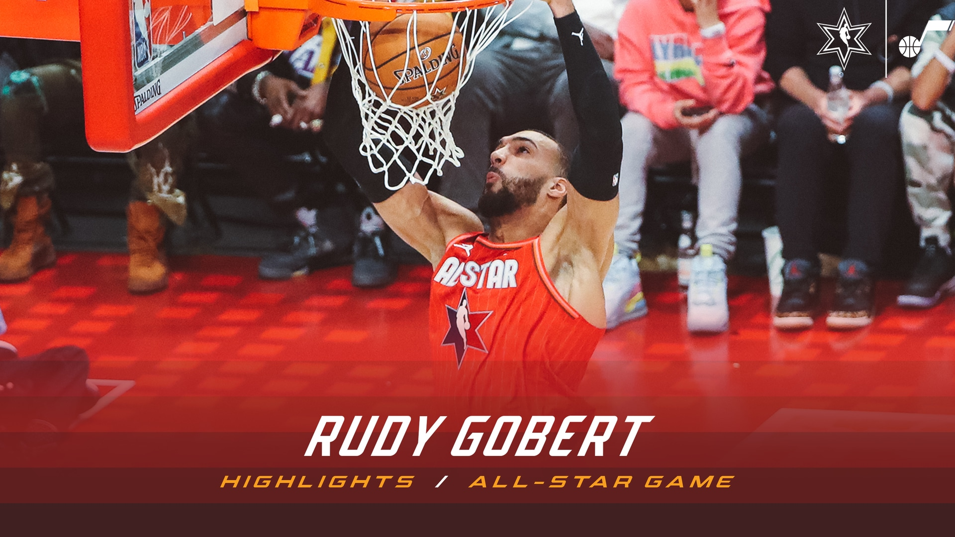 All-Star Game Highlights: Rudy Gobert—21 points, 11 rebounds
