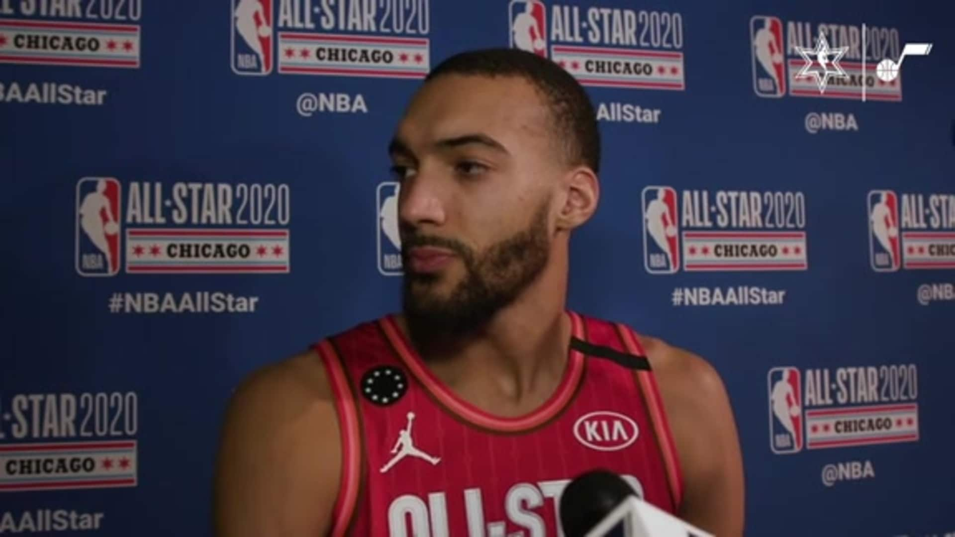 All-Star Postgame Interview: Rudy Gobert