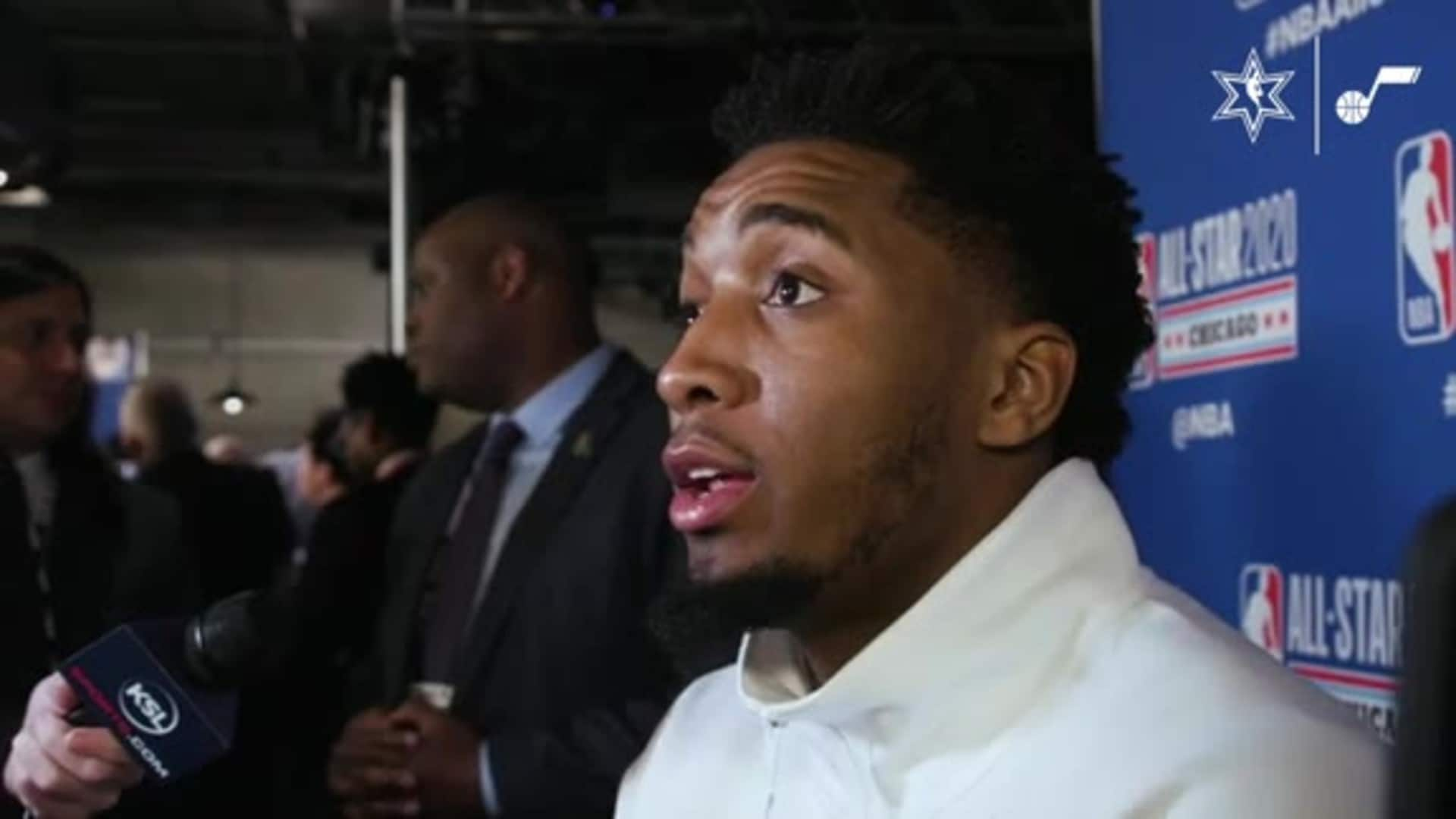 All-Star Postgame Interview: Donovan Mitchell