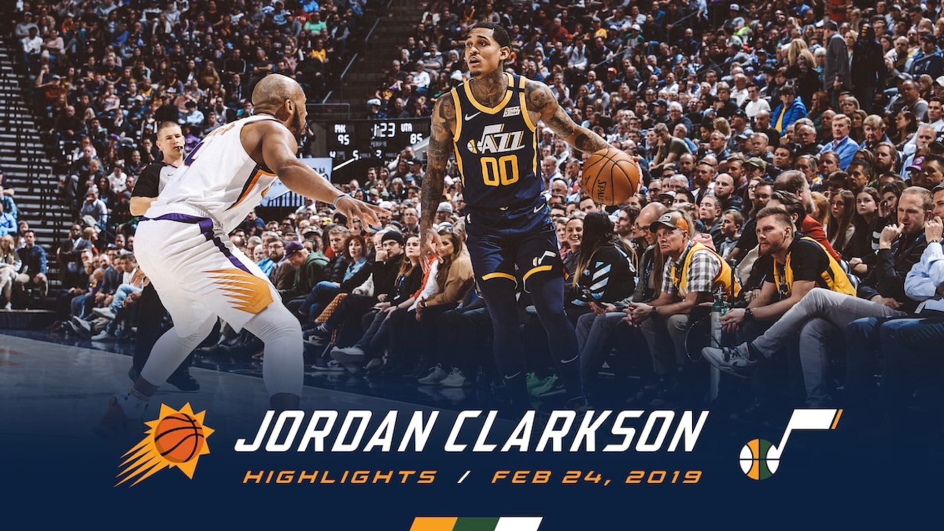 Highlights: Jordan Clarkson — 14 points, 2 rebounds